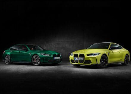 Novos BMW M3 e BMW M4 já chegaram.