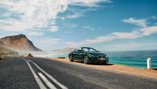 Com o sol chega também o BMW Série 4 Cabrio.